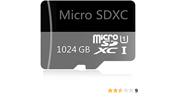 Designed for Android Smartphone 1024 GB Micro SD Card High Speed Class 10 SDXC with Free SD Adapter Tablet and Other Compatible Devices