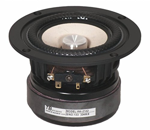 """120W RMS 8 Ohm 0.8/"""" Dome Tweeter Magnetically Shielded"""
