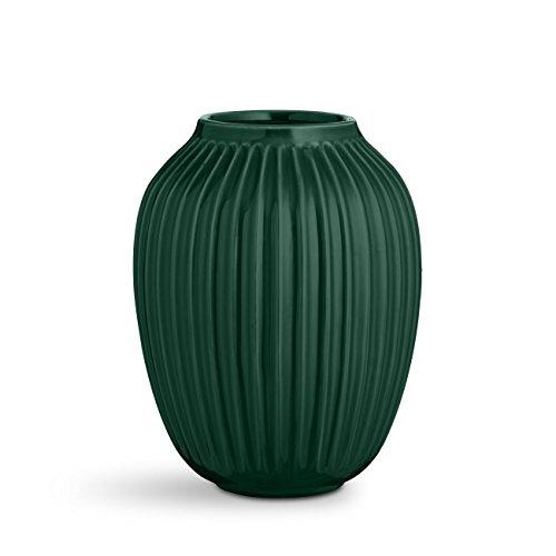 Kähler 17253 Hammershøi - Vase/Blumenvase - Keramik - Höhe 25 cm (Grün)