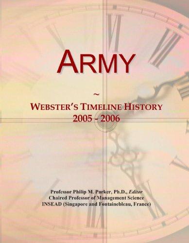 Army: Webster's Timeline History, 2005 - 2006