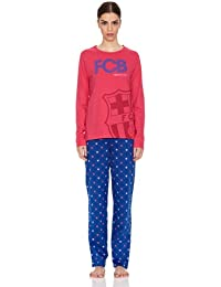 Licencias Pijama Mujer Escudo Grande Fútbol Club Barcelona