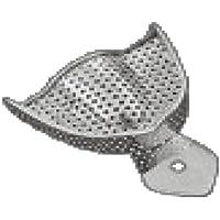 Comdent 30-2530 - Bandeja para imprimir (acero inoxidable, perforada, U5)