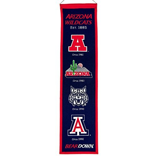 Arizona Wildcats Official NCAA 8 inch x