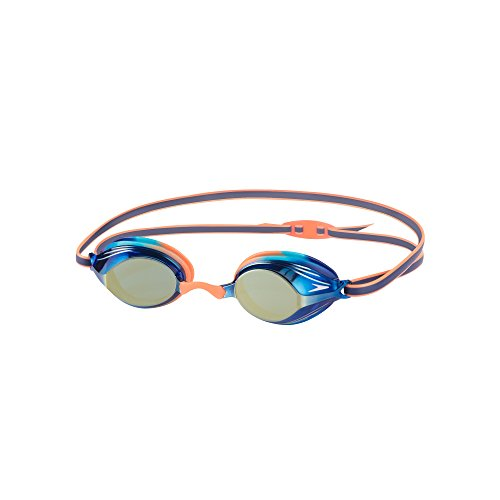 Speedo Kinder Vengeance Junior Goggles Orange/Turquoise/Blue Mirror One Size