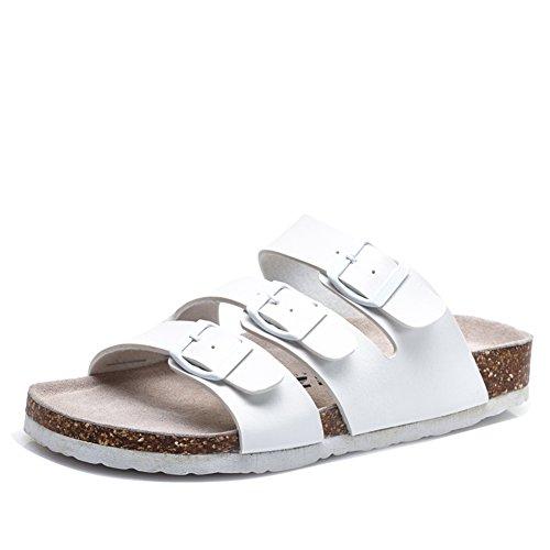 Sommer-Wort Kork-Hausschuhe/Rutschfeste Schuhe/Koreanische paar Freizeitschuhe A