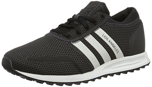 adidas Unisex-Erwachsene Los Angeles Low-Top Schwarz (Utility Black F16/Ftwr White/Core Black)