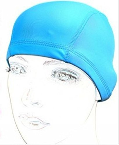 ewin24-3pcs-silicone-lycra-swimsuit-panno-colore-puro-nuoto-impermeabile-cap-swim-cap-cappello-pisci