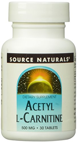 SOURCE NATURALS, Acetyl L-Carnitine 500 mg – 30 tabs