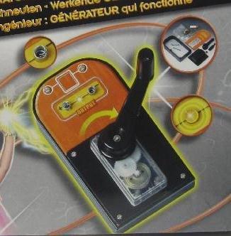 Labor für junge Techniker, Kinder Spielzeug Experimentierkasten, verschieden vorsortiert (LHS)