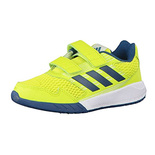adidas Kinder Laufschuhe AltaRun CF K semi solar yellow/petrol night f17/ice yellow f16