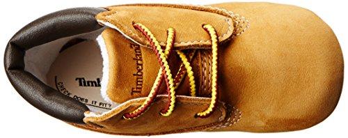 Timberland Crib Bootie W/hat, Unisex Baby Flache Hausschuhe Gelb (Jaune (Wheat))