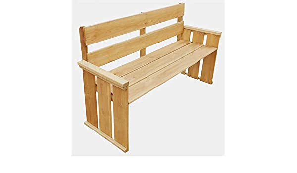 Altezza Panchina Da Terra : Vidaxl panchina da giardino in legno di pino panca sedia seduta per