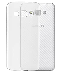 Plus Ultra Clear Transparent Flexible Soft TPU Slim Back cover for Samsung Galaxy Grand Max