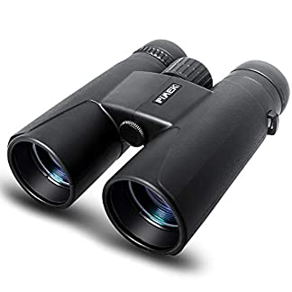Binoculars for Adults Kids, 10x42 Compact HD Professional Binoculars with Smart Phone Mount for Bird Watching, Camping, Hiking-BAK4 Prism FMC Lens with Neck Strap/Carrying Bag …