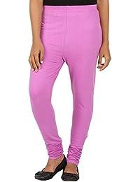EAGLE Women Purple Color Leggings