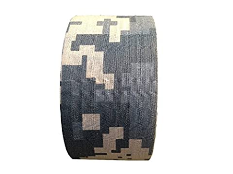 Outdoor Multifunktions Camo Tape 30ft Länge x 2in Breite (1m x 5cm) Selbstklebende Tape Camouflage Wrap Guns Jagd Radfahren (Acu Camo)