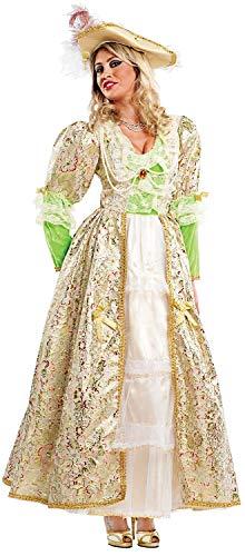 Costume di carnevale da contessa del 700 di francia vestito per donna adulti travestimento veneziano halloween cosplay festa party 4485 taglia s
