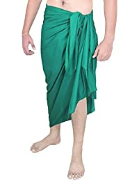 Beach Towel Beach Wear Mens Sarong Pareo Wrap Cover UPS Bathing Suit Swimming