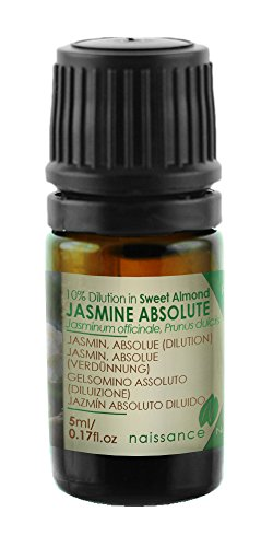 Naissance Jazmín Absoluto - 10% Dilución en Aceite de Almendras Dulces - 5ml
