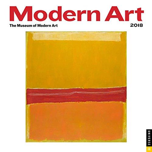 Modern Art 2018 Wall Calendar