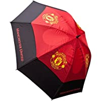 MANCHESTER UNITED FC TOURVENT DOUBLE-CANOPY GOLF UMBRELLA