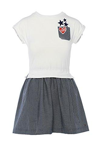 Tommy Hilfiger Mädchen Kleid, Girl's Flower Print Dress, Size 12 Jahre (128-134)