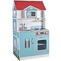 ColorBaby - Cocina & Casa muñecas 2 en 1, 60 x 48 x 107 cm (85292)