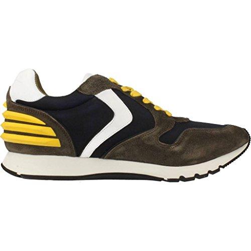 Uomo scarpa sportiva, colore Verde , marca VOILE BLANCHE, modello Uomo Scarpa Sportiva VOILE BLANCHE LIAM POWER Verde MIMETICO/BLU