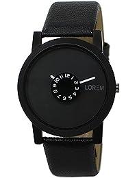 Sunstar Exclusive Premium Quality Carban Black Quartz Analog Watch For Men's & Boy's - SW06-0210