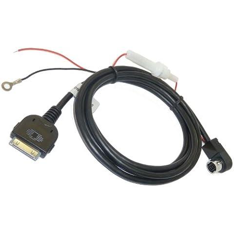 Adapter-Universe® 5150 Cavo Ipod Di Iphone 4 Del Ipad Adattatore Aux Alpino Jvc Con 5V Di Ricarica!Ai-Net