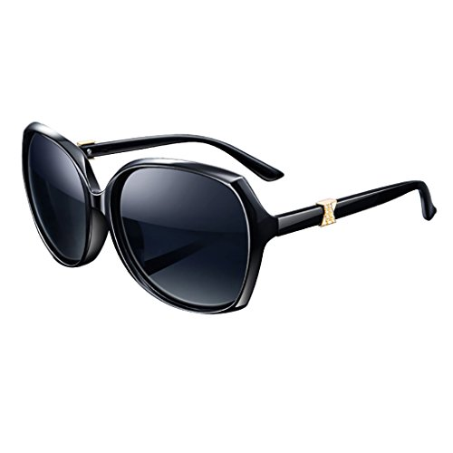 YGyanjing Hot Fashion Sonnenbrille weiblich Polarisierte Sonnenbrille Retro Damen Sonnenbrille Shopping Tourismus voller UV400 a