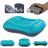 Features:Has the ergonomic design for you, this self-inflatable pillow is very comfortable and durable to use.Equipped with an air valve for inflating and deflating, it provides much convenience for travelling and outdoor sports.Waterproof and com...