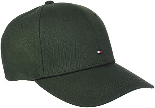 Tommy Hilfiger Herren Baseball Cap Classic BB Cap AM0AM03994, Gr. One Size (Herstellergröße: OS), Grün (Rosin 048)