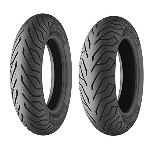 MICHELIN 110/90-12 64P CITY GRIP F/R TL - 90/90/R13 64P - A/A/70dB - Moto Pneu