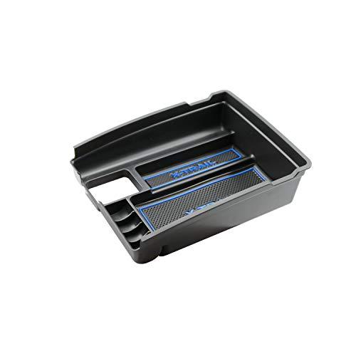 RUIYA Caja de apoyabrazos de la Consola Central Personalizado para 2014-2018 Rogue X-Trail T32,Organizador de Consola Caja de almacenaje Insertar Bandeja,Accesorio del Coche (Azul)