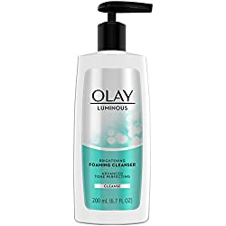 Olay Regenerist Luminous Brightening Foaming Cleanser Cream, 6.7 Fluid Ounce