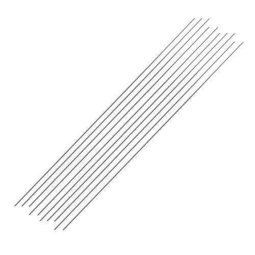 KUNSE 50 Pcs 1.6 mm/2 mm Aluminium Easy Melt Temperatur Löten Bogen Schweißen Stäbe Stick Draht Schnur-1.6 mm