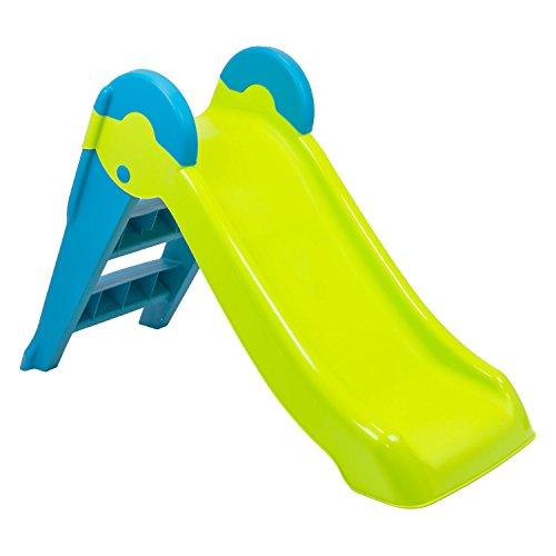 KETER Kinderrutsche Gartenrutsche Babyrutsche Spielzeug Rutschbahn Spielplatz Kleinkindrutsche drinnen und draußen verschiedene Farben
