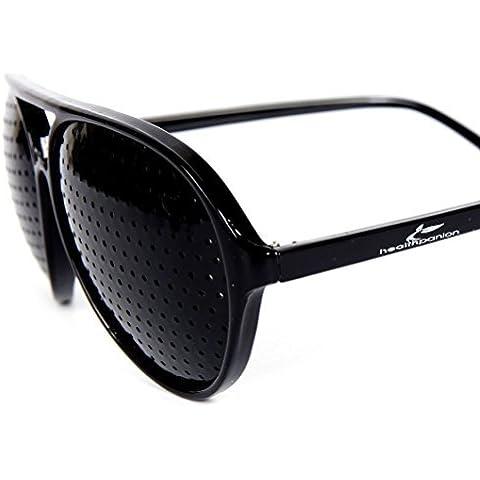 HealthPanion Miglioramento Vista Esercizio Occhiali A Foro Stenopeico