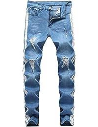 3b93c4b29bfed Jeans de hombre Pantalones vaqueros de corte slim para hombres