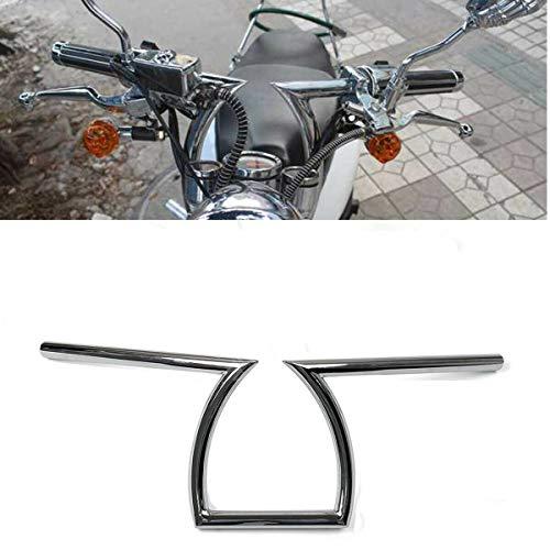 RONSHIN Partes Manillar Motocicleta 22 mm, 7/8 Pulgadas