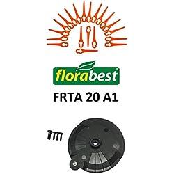 Set d'accessoires de coupe-bordure sans fil Florabest LIDL - Avec 20lames, disque à tronçonner - Avec vis - FRTA 20A1IAN 282232-