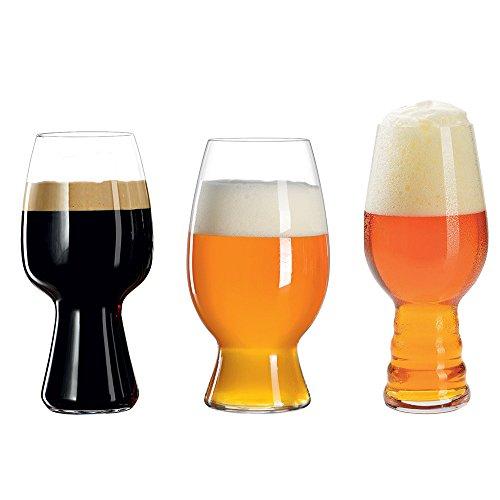 Spiegelau & Nachtmann, verre en cristal, verres à bière artisanaux, transparent, 3 Gläser