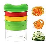 Best Spiralizers - Spiralizer de légumes INKERSCOOP 3 lames Trancheuse à Review