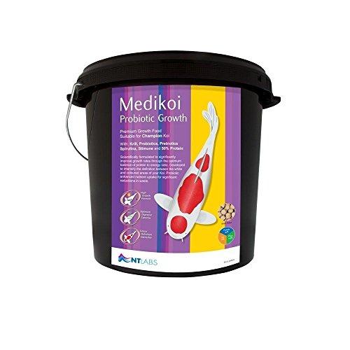 NT Labs Medikoi Probiotic croissance 6 mm 10 kg granulés poissons de bassin
