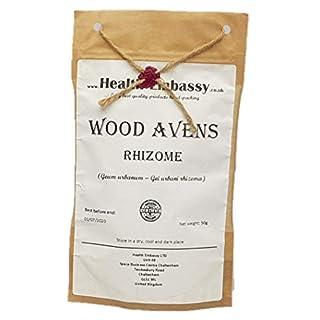 Health Embassy Wood Avens Rhizome (Geum Urbanum L. - Gei Urbani Rhizoma) 100% Natural (50g)