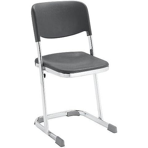 National Public Seating Elephant Z-Stool - Stool With Backrest - 24