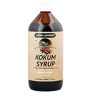 Urban Platter Kokum Syrup, 500 ML [Cooling, Detoxifying & Digestion Improver]