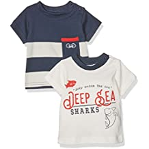 Twins Baby Boys' Anton T-Shirt, Pack of 2,