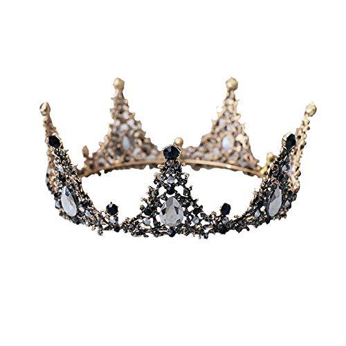 (Ailihan Krone Braut Prinzessin Hochzeit Headwear Queen Crown Hochzeit Erwachsene Geschenk Geburtstag Kopfbedeckung (bis zu 6 cm Durchmesser 14 cm))